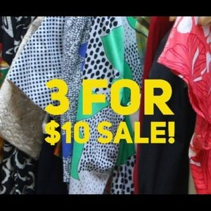 🔥 3 for $10 sale! 🔥